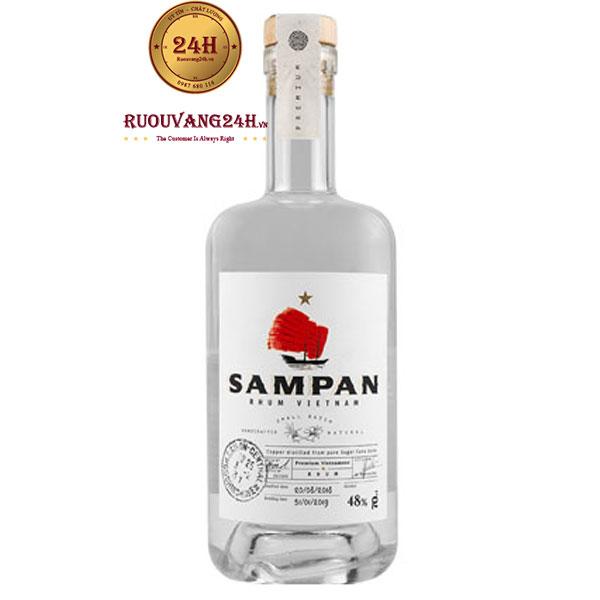 Rượu Sampan Rhum Vietnam Blanc 48 %