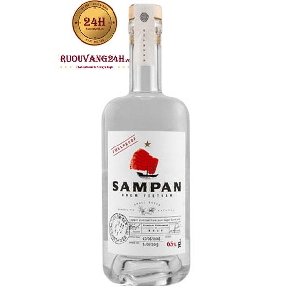 Rượu Sampan Rhum Vietnam Blanc 65%