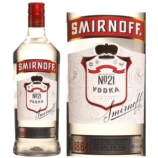 Rượu Smirnoff Vodka Red