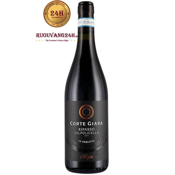Rượu Vang Allegrini Corte Giara Ripasso Valpolicella