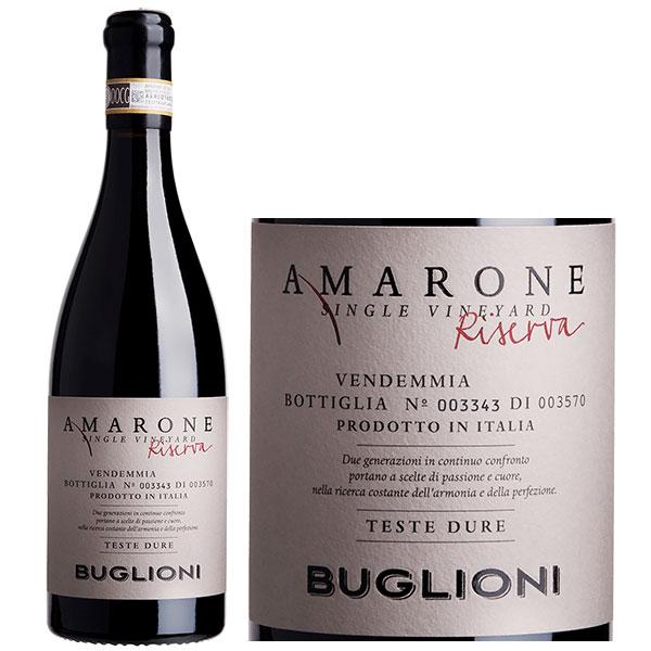 Rượu Vang Buglioni Amarone Riserva Teste Dure