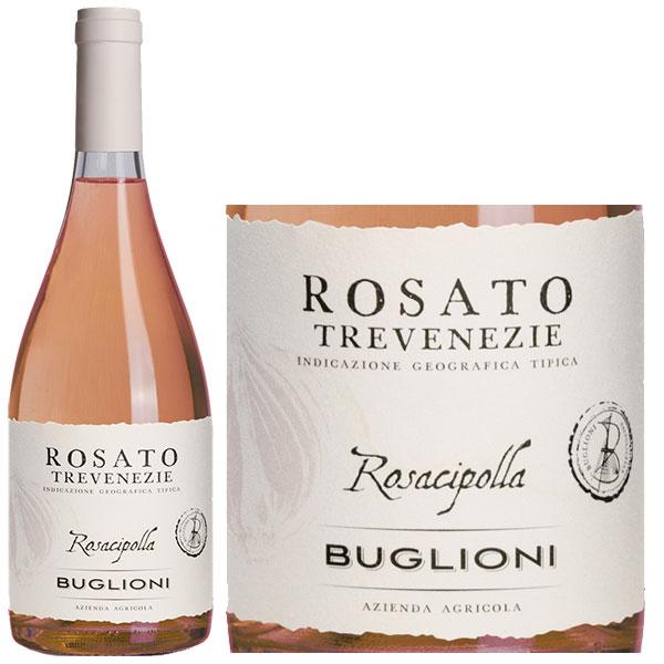 Rượu Vang Buglioni Rosato Trevenezie Rosacipolla