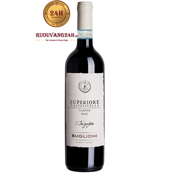 Rượu Vang Buglioni Superiore Valpolicella Classico L'imperfetto