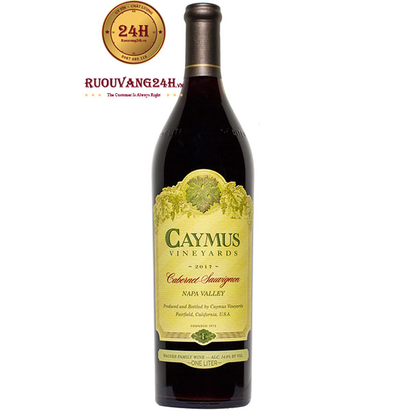 Rượu Vang Caymus Cabernet Sauvignon