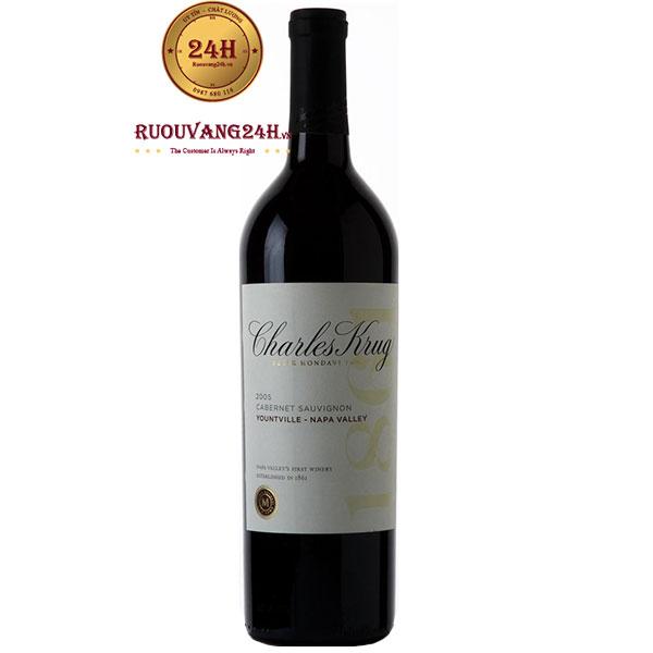 Rượu Vang Charles Krug Peter Mondavi Family Cabernet Sauvignon
