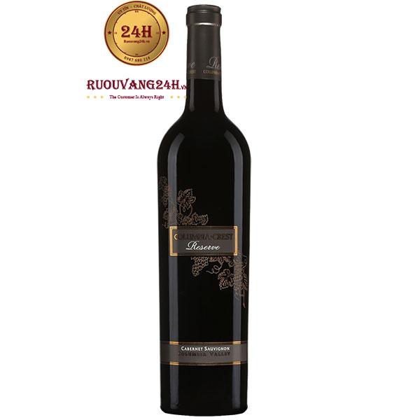 Rượu Vang Columbia Crest Reserve Cabernet Sauvignon