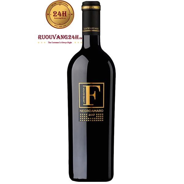 Rượu Vang F Gold Limited Negroamaro