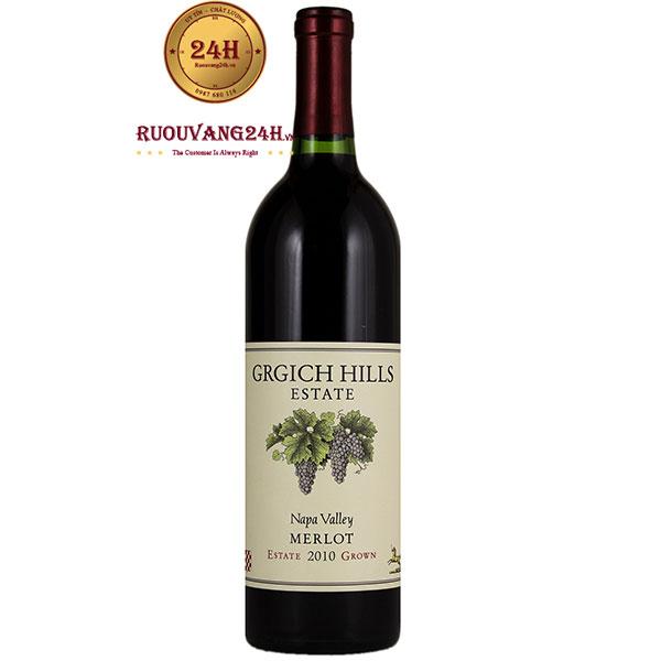 Rượu Vang Grgich Hills Estate Napa Valley Merlot