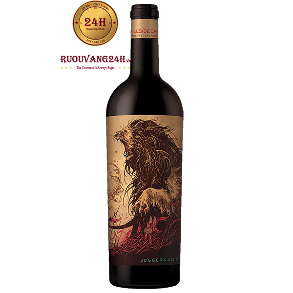 Rượu Vang Juggernaut Hillside Cabernet Sauvignon