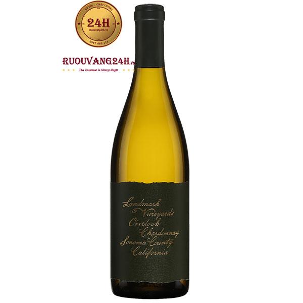 Rượu Vang Landmark Vineyard Overlook Chardonnay