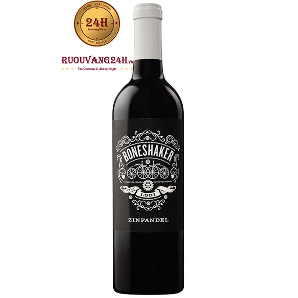 Rượu Vang Mỹ Boneshaker Zinfandel Lodi
