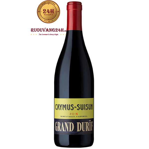 Rượu Vang Mỹ Caymus Suisun Grand Durif