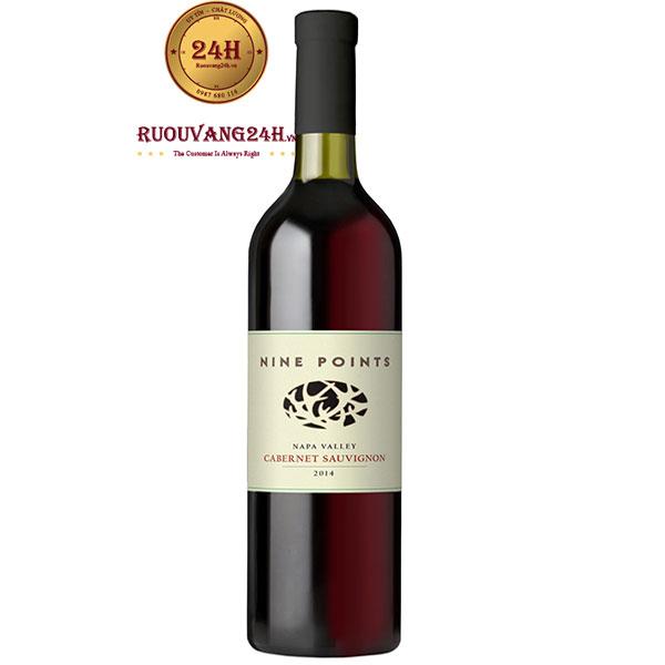 Rượu Vang Mỹ Nine Points Cabernet Sauvignon