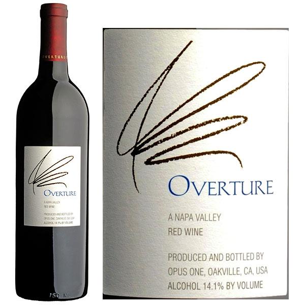 Rượu Vang Mỹ Opus One Overture