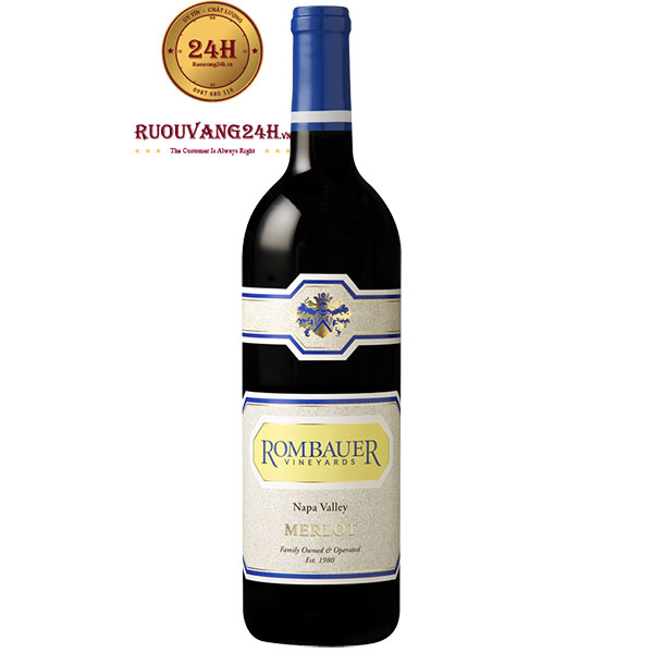 Rượu Vang Mỹ Rombauer Vineyards Merlot