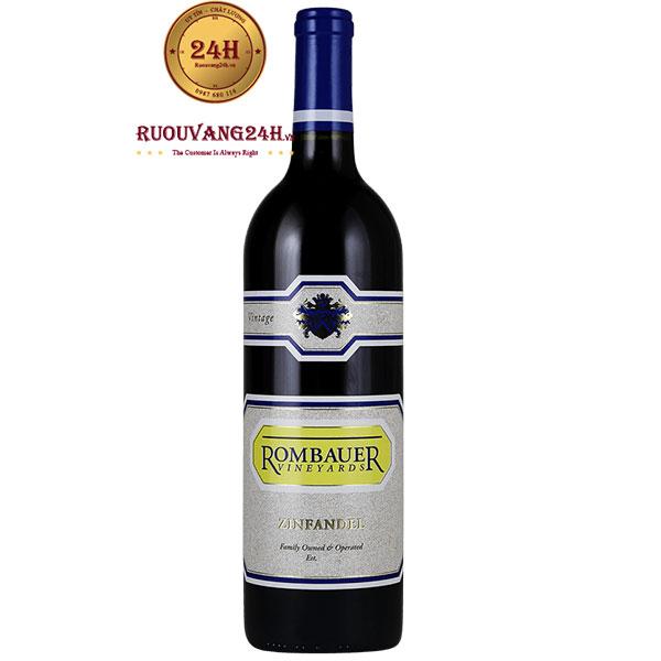 Rượu Vang Mỹ Rombauer Vineyards Zinfandel