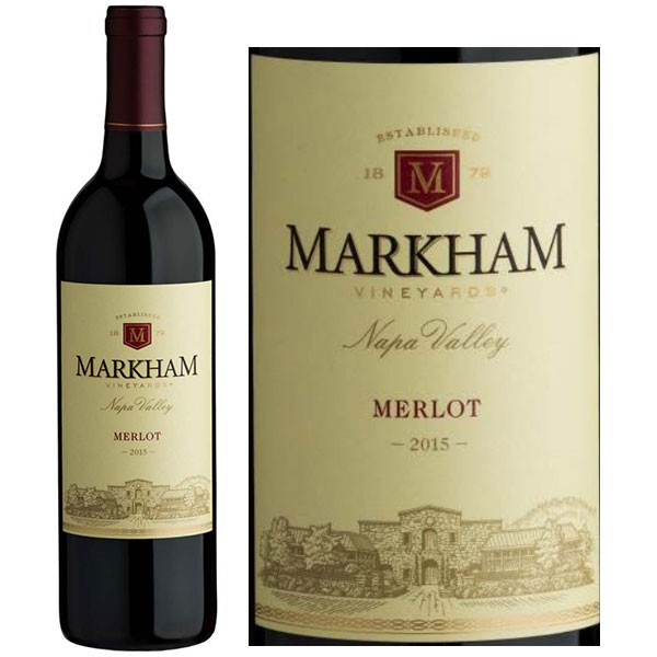 Rượu Vang Markham Vineyards Napa Valley Merlot