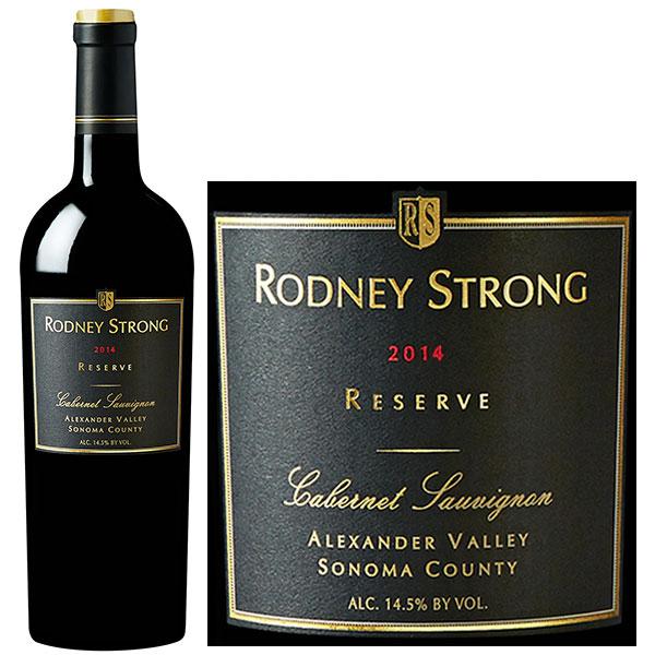 Rượu Vang Rodney Strong Reserve Cabernet Sauvignon