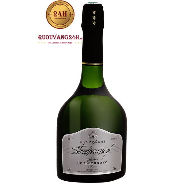 Rượu Vang Sâm Banh Stradivarius De Charles De Cazanove