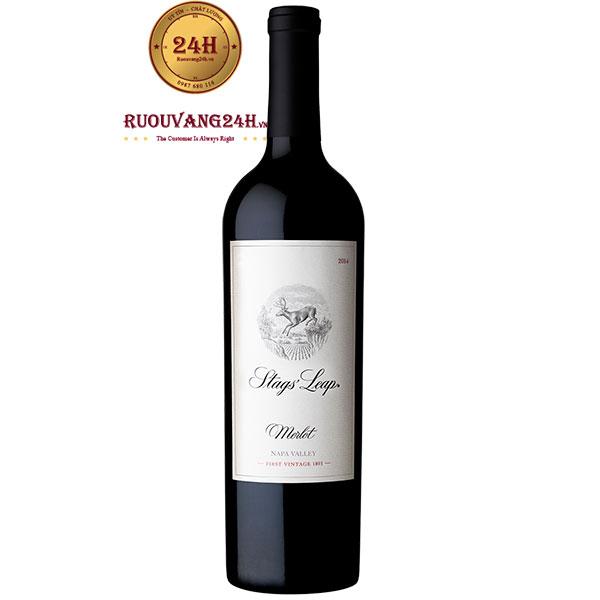Rượu Vang Stags' Leap Merlot Napa Valley