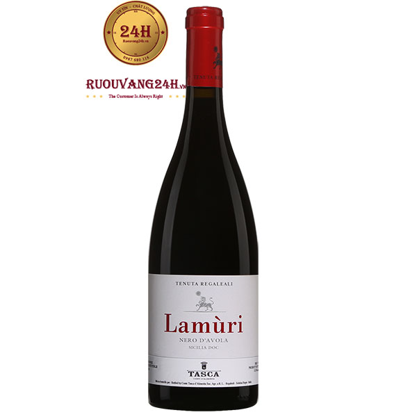 Rượu Vang Tasca d'Almerita Lamùri Nero d'Avola
