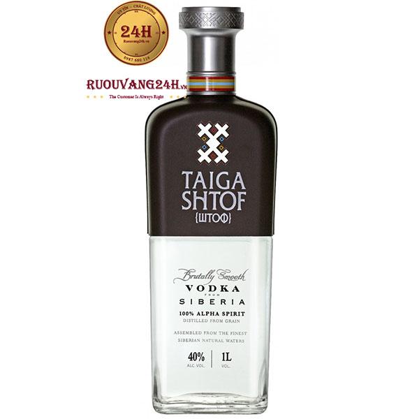 Rượu Vodka Taiga Shtof