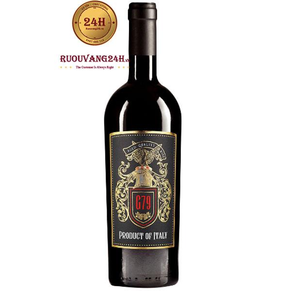 Rượu Vang G79 Product Of Italy