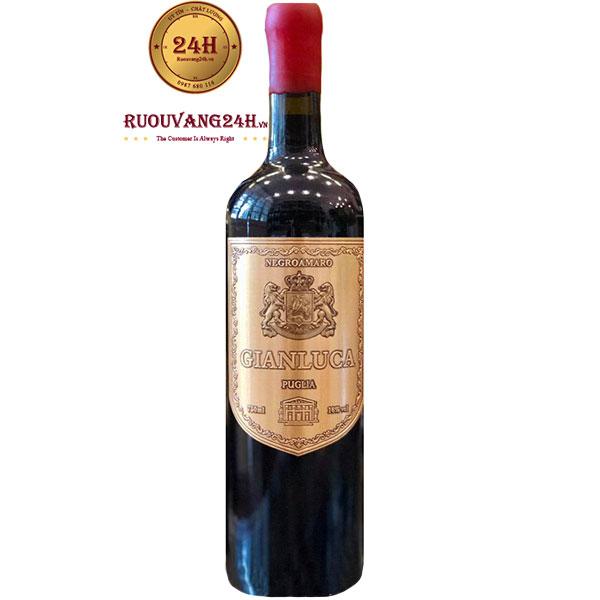 Rượu Vang Gianluca Negroamaro Puglia