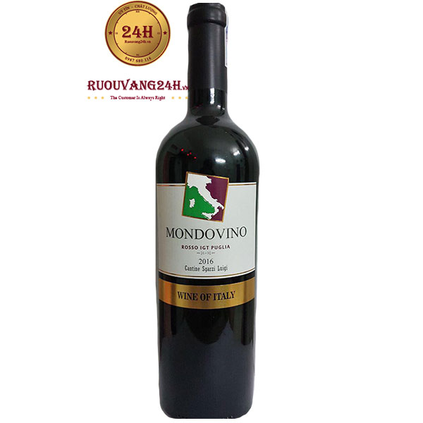 Rượu Vang Mondovino Rosso Puglia