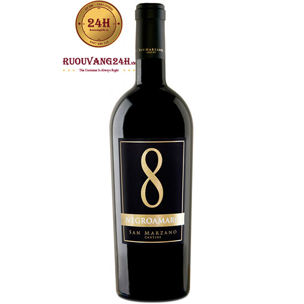 Rượu Vang Số 8 Negroamaro San Mazano