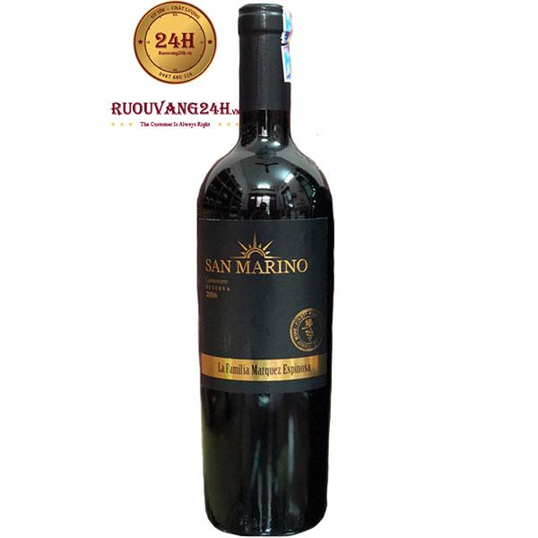 Rượu Vang San Marino Reserva Cabernet Sauvignon
