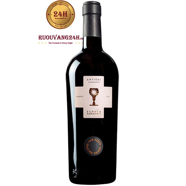 Rượu Vang Antieri Salento Schola Sarmenti