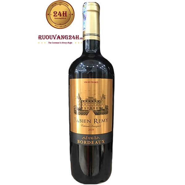 Rượu Vang Fabien Remy Bordeaux