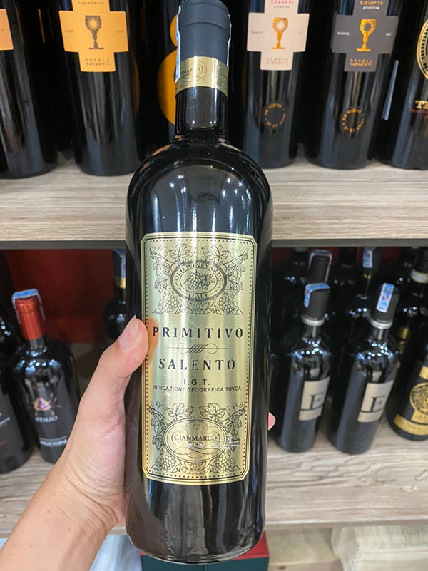 Rượu Vang Gianmarco Primitivo Salento