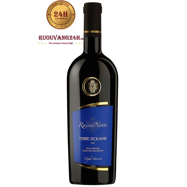 Rượu Vang Rosso Di Notte Terre Siciliane