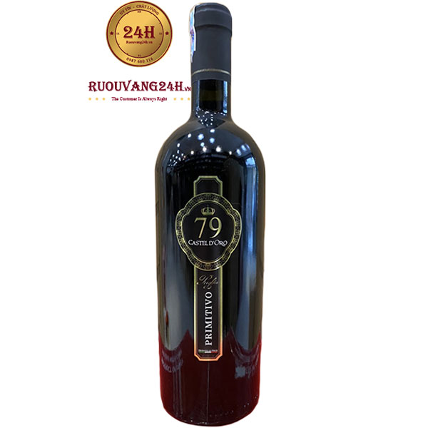 Rượu Vang Ý Castel D'Oro 79 Primitivo