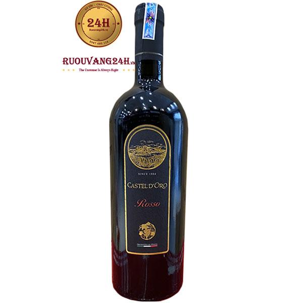 Rượu Vang Castel D'Oro Vino Rosso