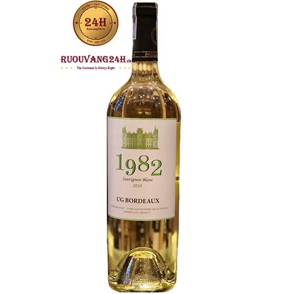 Rượu Vang Pháp 1982 Sauvignon Blanc UG Bordeaux