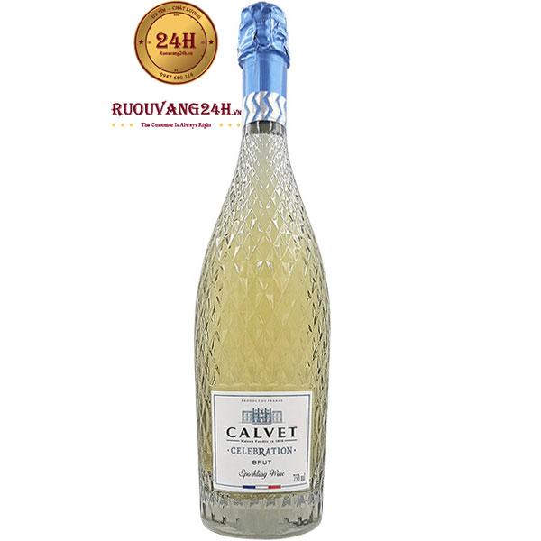 Rượu Champagne Calvet Celebration Blanc