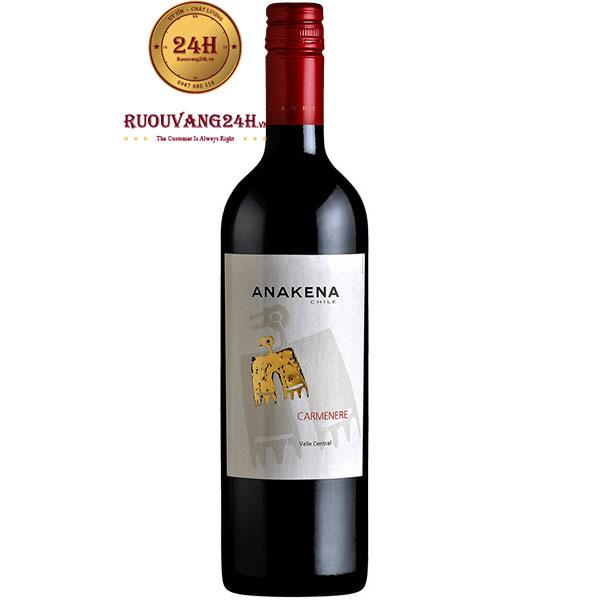 Rượu Vang Anakena Carmenere