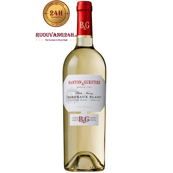 Rượu Vang Barton & Guestier Bordeaux Blanc
