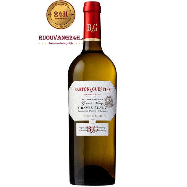 Rượu Vang Barton & Guestier Graves Blanc