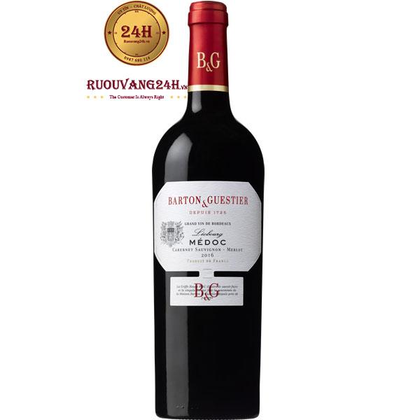 Rượu Vang Barton & Guestier Medoc Leobourg