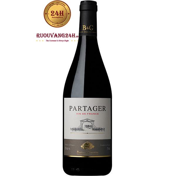 Rượu Vang Barton & Guestier Partager