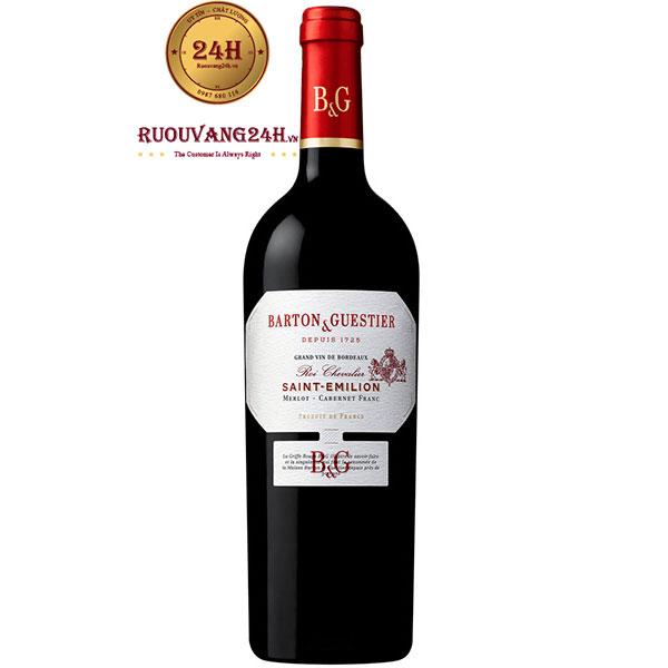 Rượu Vang Barton & Guestier Saint Emilion
