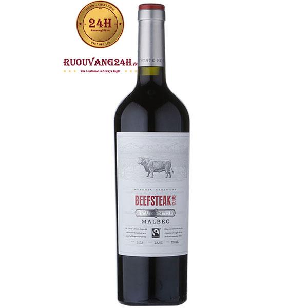 Rượu Vang Beefsteak Club Bottled Malbec