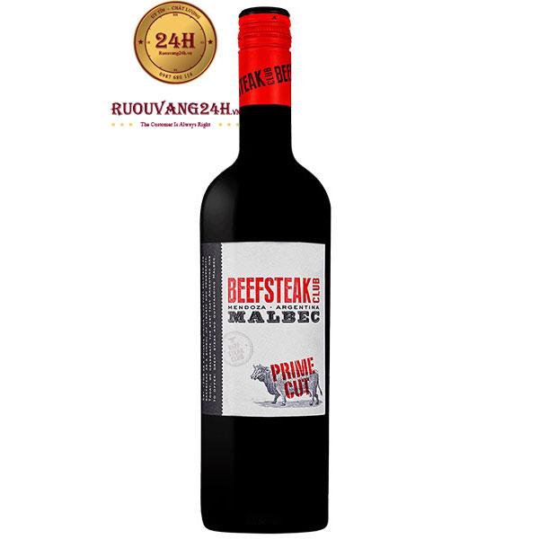 Rượu Vang Beefsteak Club Malbec Prime Cut
