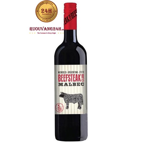 Rượu Vang Beefsteak Club Malbec