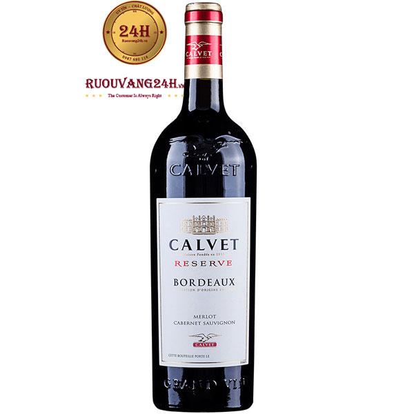 Rượu Vang Calvet Reserve Merlot – Cabernet Sauvignon