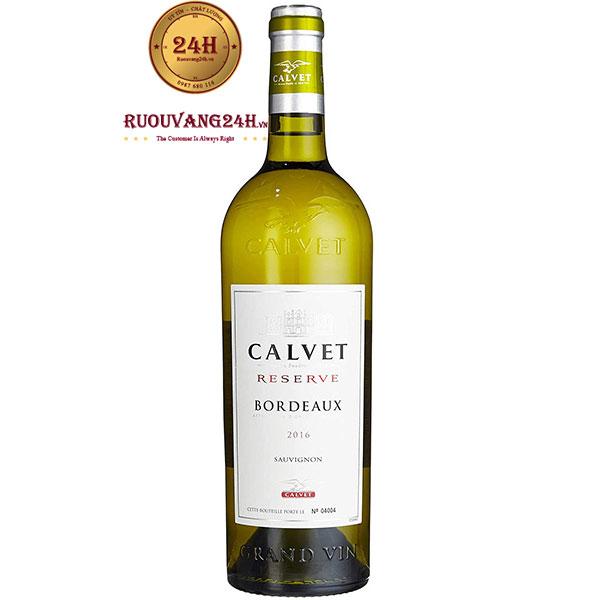 Rượu Vang Calvet Reserve Sauvignon Blanc